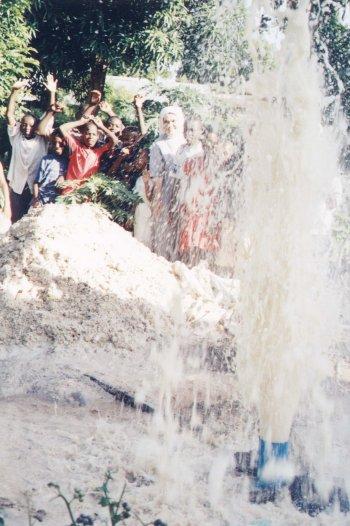 il pozzo a Mwenge